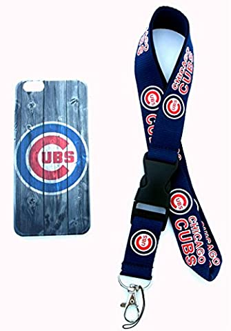 Baseball Champs iPhone 6 Quality Painted Hard Snap On Cases and Lanyard (Faded Fence) - 1973 Baseball