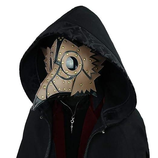 Adultos Punk máscara del Traje Doctor de la Plaga Medieval ...