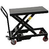 HTCART Black Bull Hydraulic Table Cart