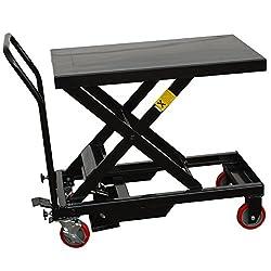 Black Bull Scissor Life Cart
