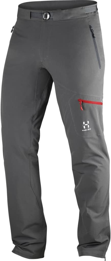 Haglofs Lizard Ii Pant Men Magnetite Xxxl Mens Water Resistant Versatile Flexable Softshell Pant Amazon Co Uk Sports Outdoors