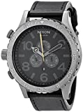 Nixon Men's A124680 51-30 Chrono Leather Watch
