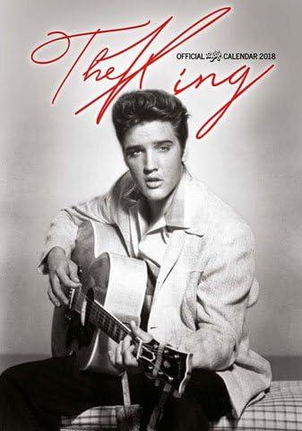 Presley, Elvis Offizieller Kalender 2018 - Größe A3 + 1 empire® Jahresplaner 2018 gefaltet, 91,5x61 cm