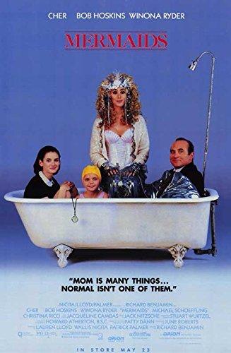 Mermaids Poster Movie Cher Winona Ryder Bob Hoskins Christina Ricci