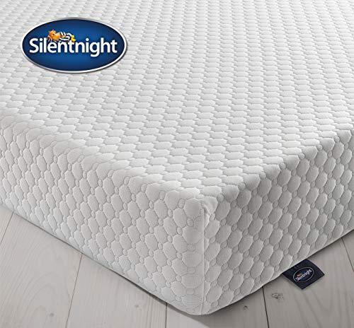 Silentnight 7 Zone Memory Foam Rolled Mattress | Made in the UK | Medium...