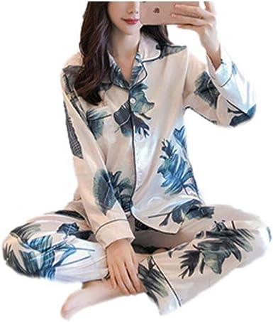 Pijamas Mujer Saten Mujer Camisones Satin Pijamas 2 Piezas ...