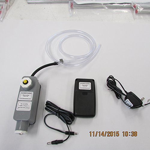 Dansha Farms Vacuum Pump With Rechargeable Power Pac Patent US9,635,830 B2 by Dansha FarmsTM