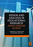 Design and Analysis in Educational Research: ANOVA