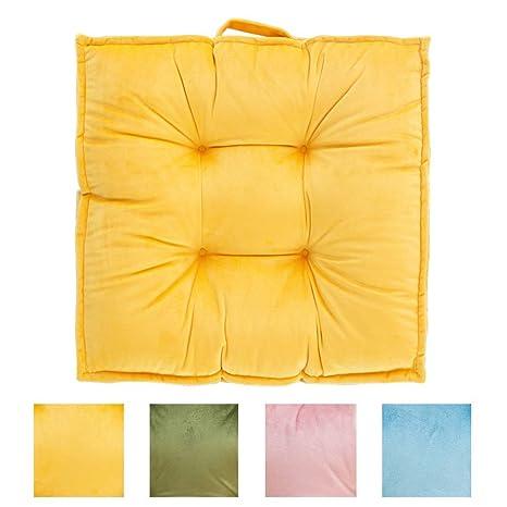 Seat cushion Cojines Grandes De Piso Cuadrado,Espesado ...