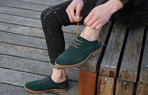 Scarpe Scarpe XIGUAFR Stringate Uomo XIGUAFR Uomo Stringate Verde Verde npx41Zq