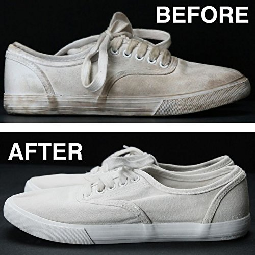59536a9766af Amazon.com  Refreshed Shoe Cleaner   Conditioner + Repellent + Touch-up +  Brush