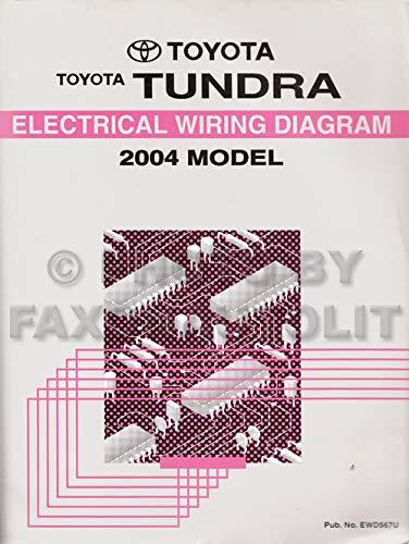 2004 Toyota Tundra Wiring Diagram Manual Original: Toyota: Amazon.com: BooksAmazon.com