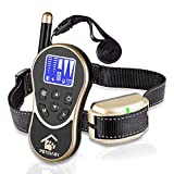 #9: PETDIARY Remote Dog Static Shock Training Collar 2625Ft Long Range with Beep/Light/Vibration/Static Shock, Waterproof, Rechargeable,All Size Dogs 10Lbs to 100Lbs with neck sizes of 8.5-25 inches