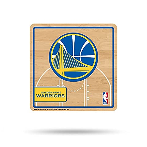 NBA Golden State Warriors Sport 3D Refrigerator Magnet, Blue, Yellow, Tan, 4-inch by 3-inch by - Collectible Refrigerator Magnet