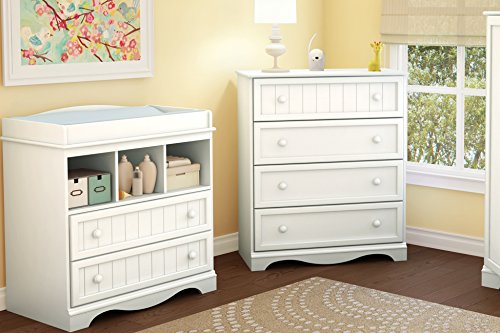 South Shore  Savannah 2-Drawer Changing Table, Pure White by South Shore (Image #3)