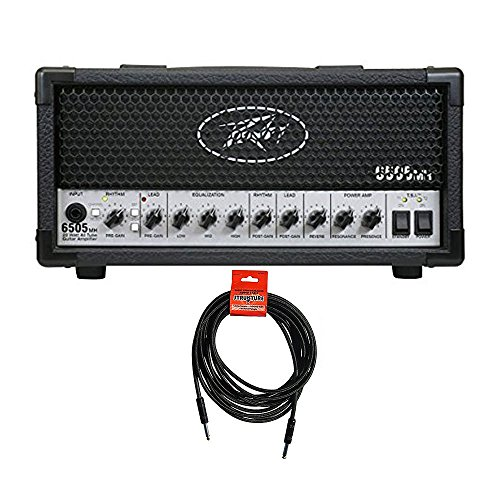 Peavey 6505+ Mini Head Guitar Amp Head + 20' INST. CABLE ()