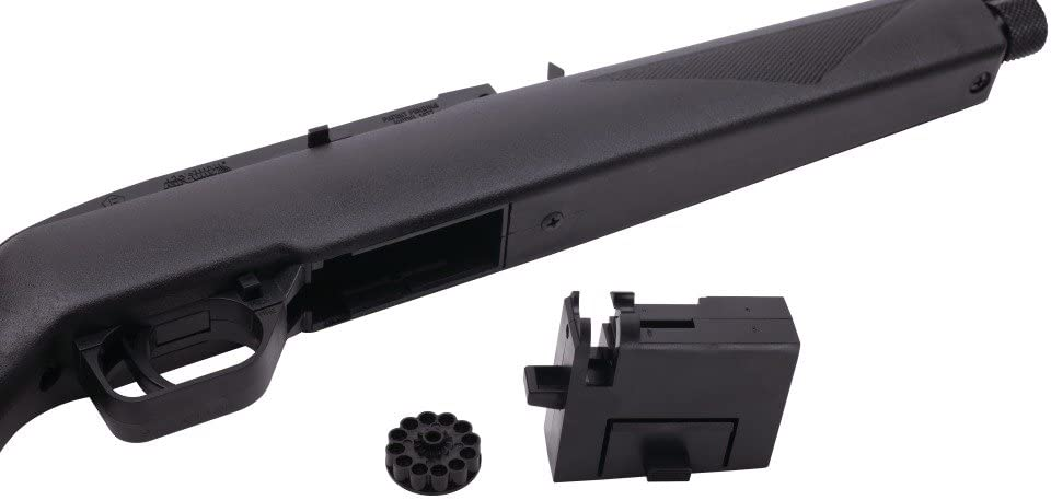 Crosman 1077 RepeatAir Semi-Automatic CO2-Powered .177-Caliber Pellet Air Rifle : Hunting Air Guns : Sports & Outdoors