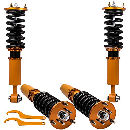Bmw E39 5 Series Sedan - Tuningsworld Coilovers Shock Suspension with Top Mounts for BMW 5 Series E39 Sedan 1996 1997 1998 1999 2000 2001 2002 2003
