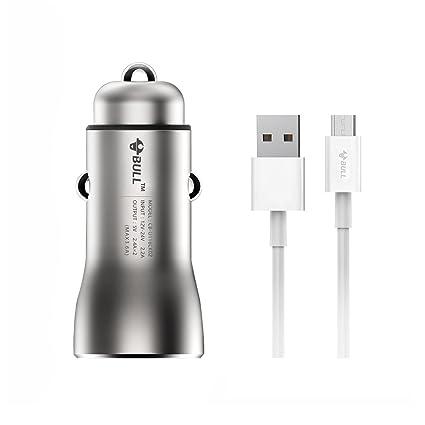 Amazon.com: Bull 3.6 A/18 W Cobre Dual USB Cargador de Coche ...