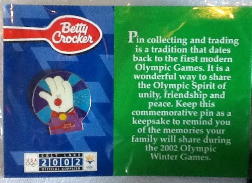 2002 Olympic Winter Games, Betty Crocker, Commemorative, Collectible Pin,