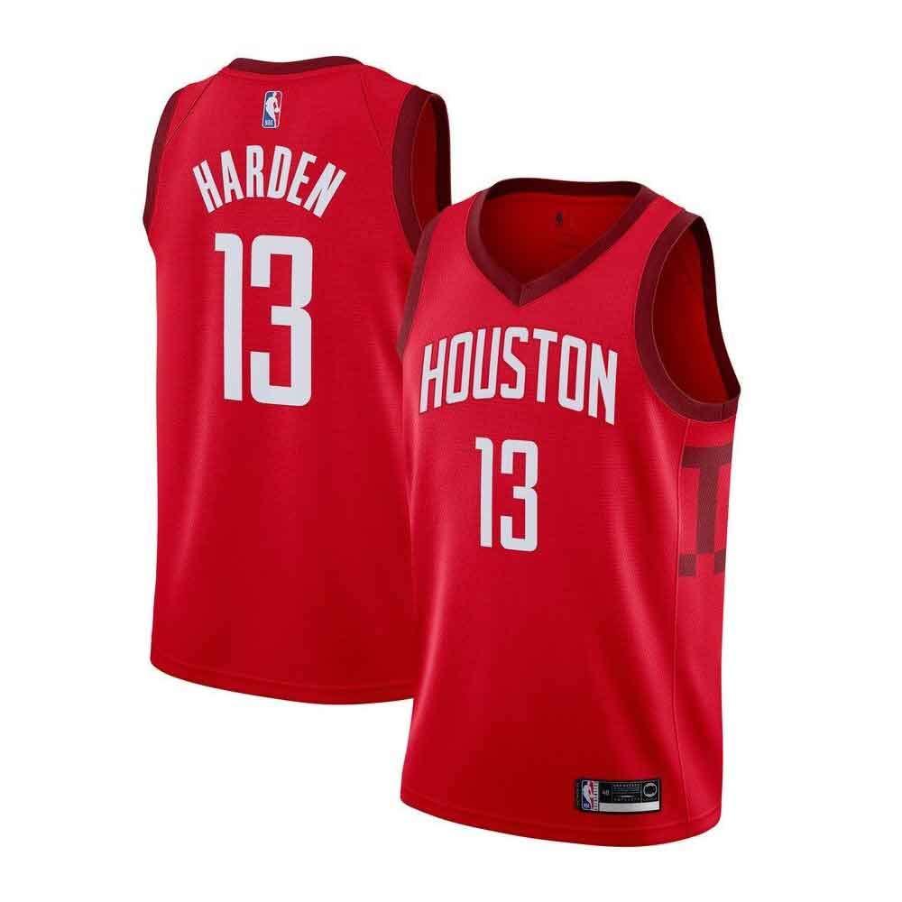 09f33ef73445a Men's James Harden Houston Rockets #13 Red Swingman Jersey