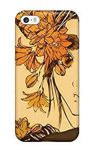 Durable Defender Case For Iphone 5/5s Tpu Cover(anime Autumn Melancholy) by ruishername