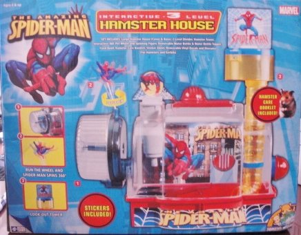 The Amazing Spiderman Hamster House- 3 Level