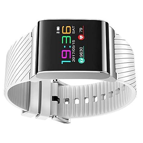 x9pro Bluetooth Smart Watch presión arterial Monitor de ritmo cardiaco podómetro Fitness Rastreador de actividad para iPhone iOS Smartphones Android ...