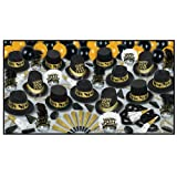Grand Deluxe Gold New Years Eve Party Kit For 50