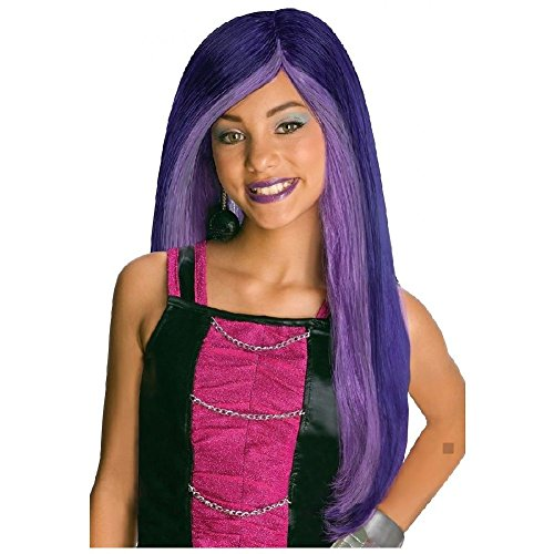 Luigi Tween Girl Costumes - Spectra Vondergeist Costume Wig Kids/Tween/Preteeen Monster High Fancy Dress