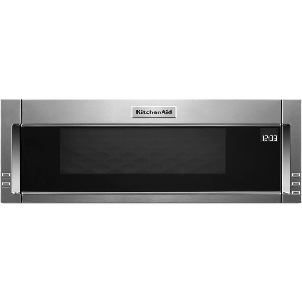 KitchenAid KMLS311HSS 1.1 Cu. Ft. Stainless Over-the-Range Microwave by KitchenAid