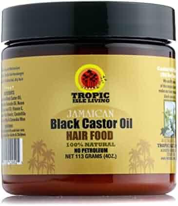 Tropic Isle Living Jamaican Black Castor Oil Hair Food (4oz)