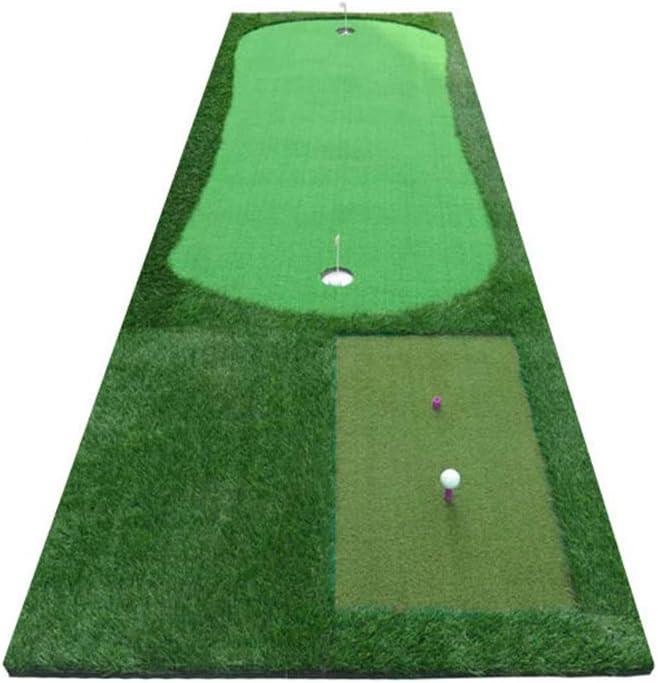 Hong Tai Yang ゴルフマット - マルチファンクションポータブルシミュレーショングリーン屋内ゴルフパッティング実務家オフィスホームグリーンパッティング練習用毛布 *-*
