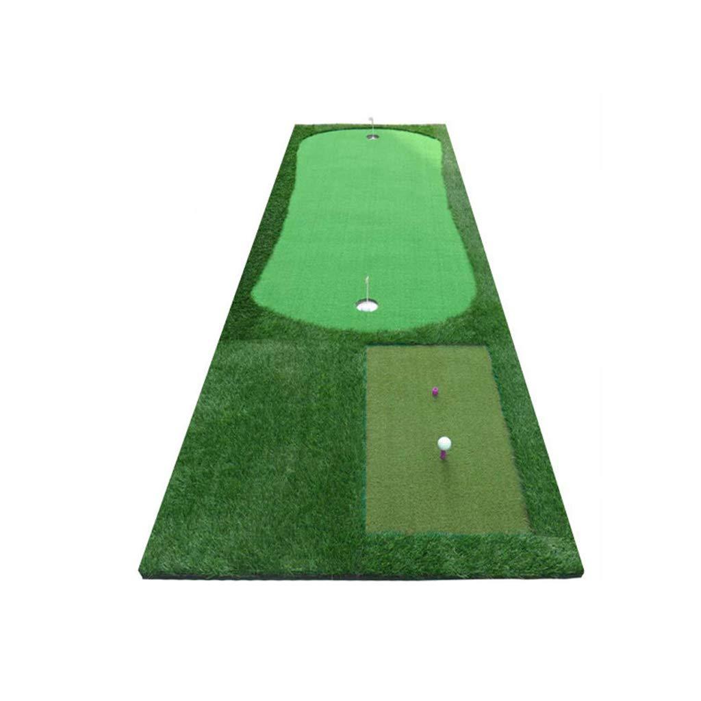 GFゴルフマット多機能ポータブルシミュレーショングリーンアウトドアインドアポータブルパター練習ブランケット ミニシミュレーションパットトレーナー@@@