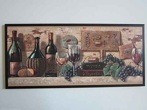 wine and cheese decor - 5