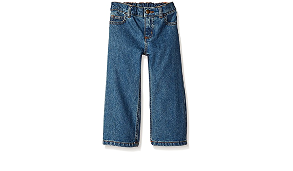 Carhartt Baby Girls Washed 5 Pocket Denim Jean