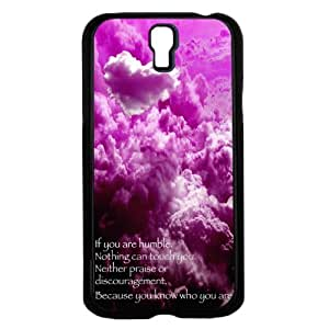 Namaste Wrote in the Clouds with Sky Background Hard Snap on Phone Case (Galaxy s4 IV)