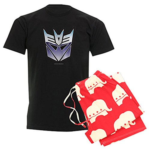 CafePress Transformers Decepticon Symbol Unisex Novelty Cotton Pajama Set, Comfortable PJ Sleepwear ()