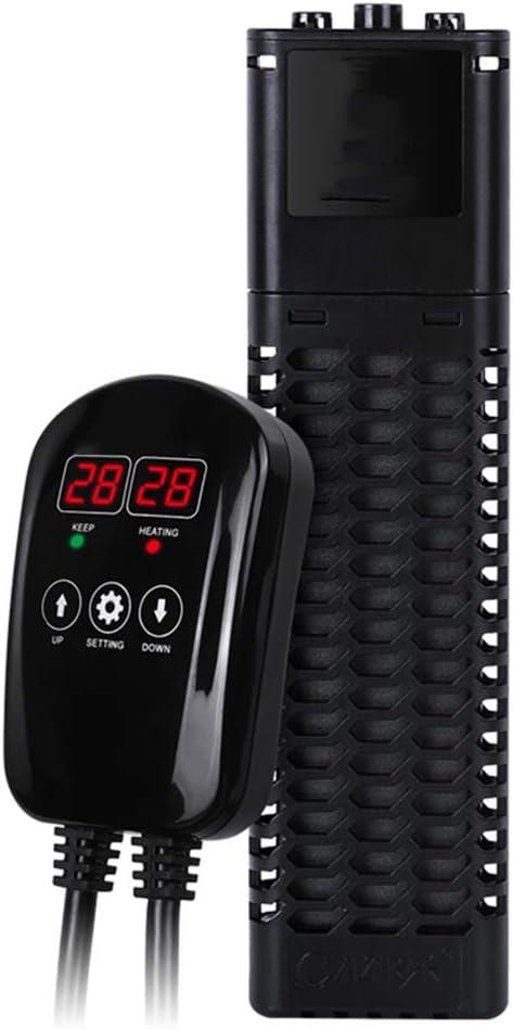 SYTH Calentador de Acuario Sumergible,Calentador de Tanque de pecera PTC Calentador de termostato/Controlador de Temperatura del Agua de bajo Consumo,con Controlador de Temperatura Externo