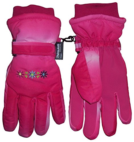 Embroidered Winter Gloves - 3