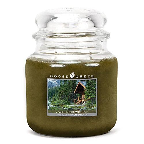 Goose Creek Cabin in The Woods Essential Jar Candle, 16 oz