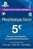 Carte Playstation Network 5 EUR | Code Jeu PSN - Compte français