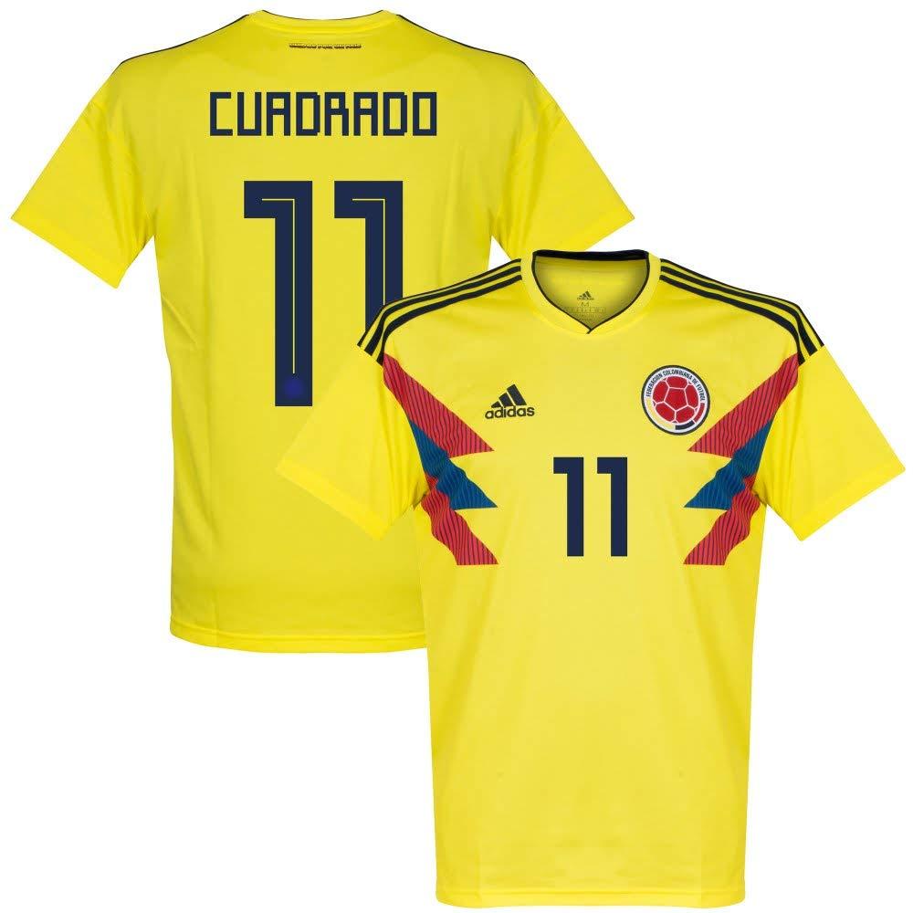 Kolumbien Home Trikot 2018 2019 + Cuadrado 11