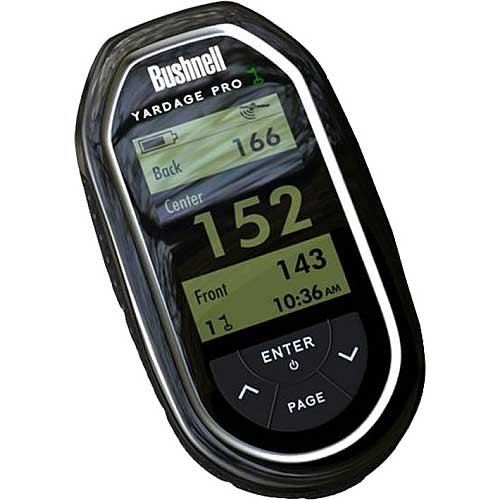 Bushnell Yardage Pro Golf GPS (Black, Model 368110) by Bushnell