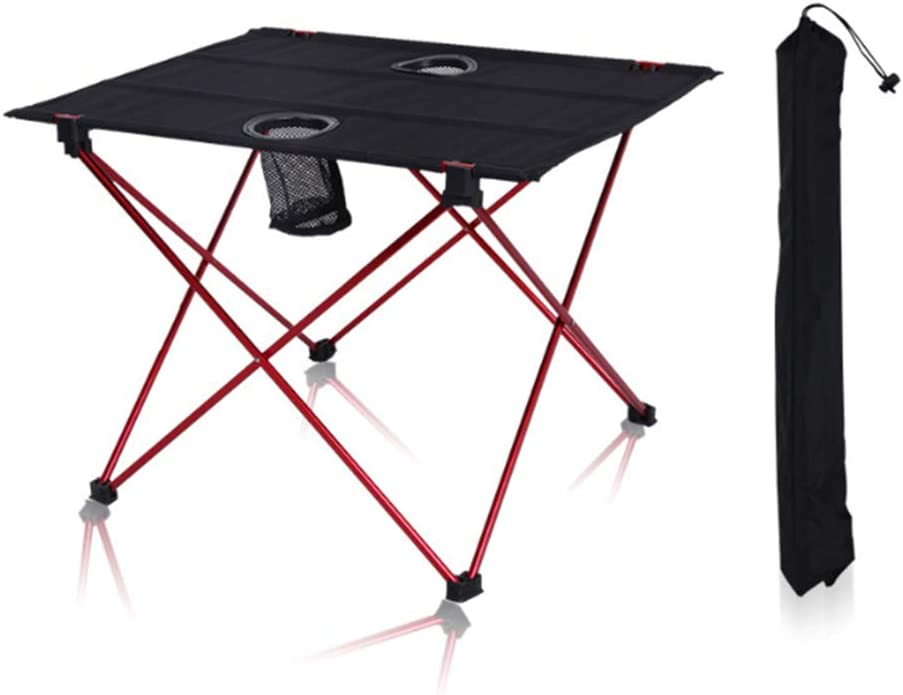 LIW Mesa Plegable Camping Tablas de Cocina Portátil Fácil ...
