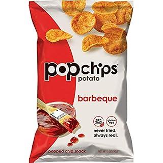 Popchips Potato Chips BBQ Potato Chips 5 oz Bags (Pack of 12)