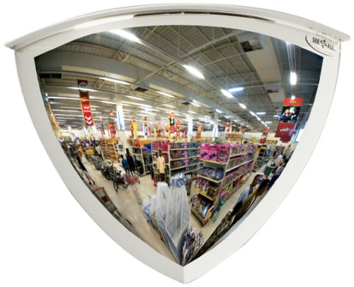 See All PV26-90 Panaramic Full Dome Plexiglas Security Mirror, 90 Degree Viewing Angle, 26
