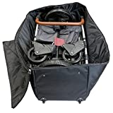 Emmzoe Wheelie XL Stroller Padded Luggage Check-in Travel Bag Case, Durable, Waterproof, Easy Roll for Storage