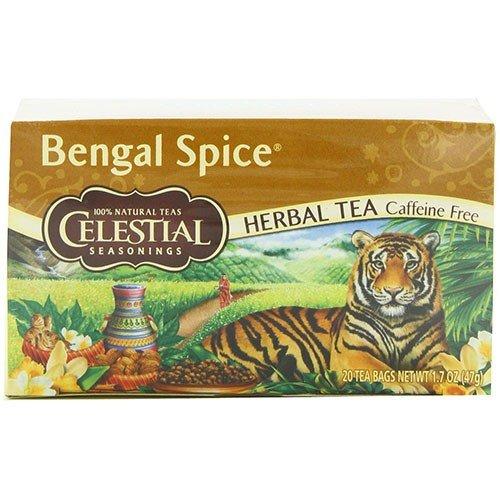 Celestial Seasonings - Bengal Spices Tea | 20 (Bengal Spice Herb Tea)