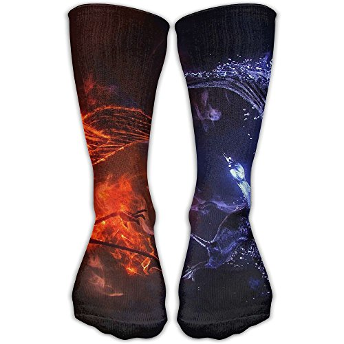 Fire Eagle Water Bird Unique Novelty Long Sock Crew Athletic Tube High Stockings Sport (Water Tube Trap)